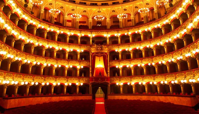 Opera Lirica, particolare del Teatro Massimo Bellini